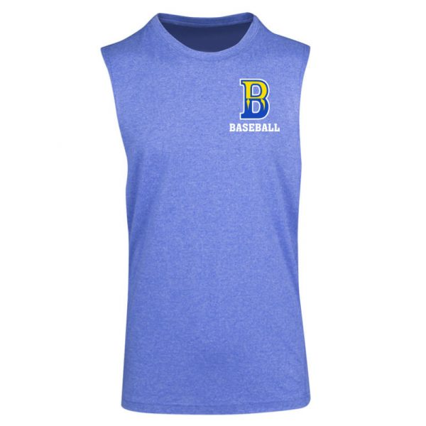 Mens Heather SleevelessTee