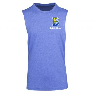 Womens Heather Sleeveless Tee
